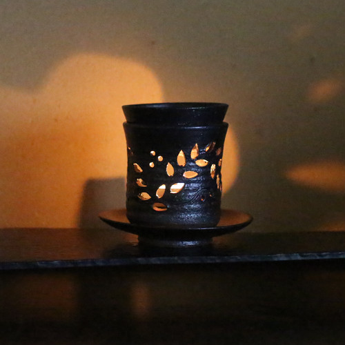 茶香炉 トクサ柄