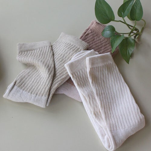 ORGANIC THREADS 3PACK CREW SOCKS MIX