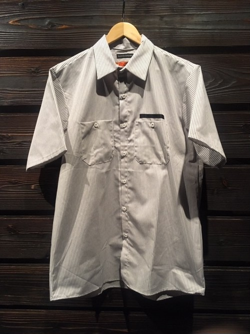 ACER  Workers Summer Shirt AC20044T  STRIPE Lサイズ(USA REDKAP Company)