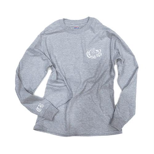 LONG SLEEVE T-SHIRT(Gray)