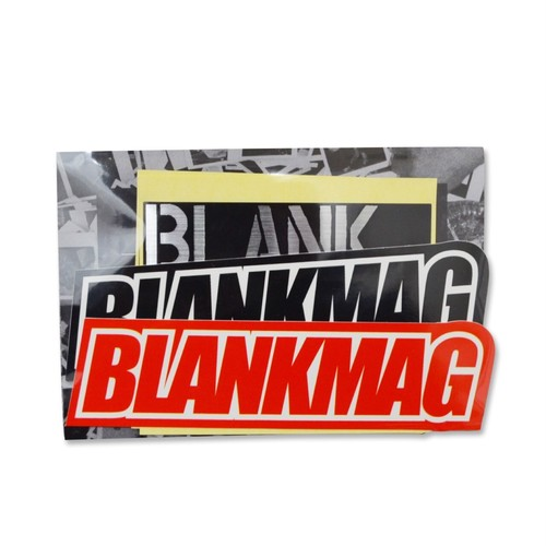 BLANKMAG / STICKER PACK