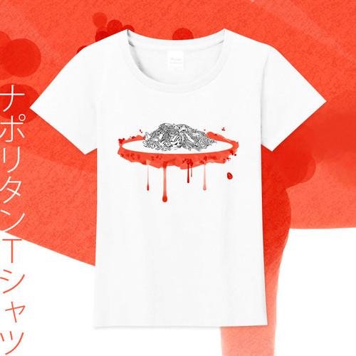 【送料無料】サイズ豊富★ナポリタンTシャツ