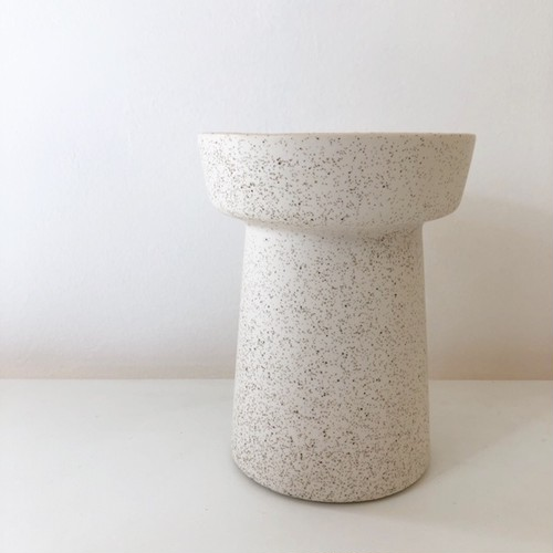 "再入荷!ceramic pot FARM ""JESSIKA"" /white 鉢カバー"