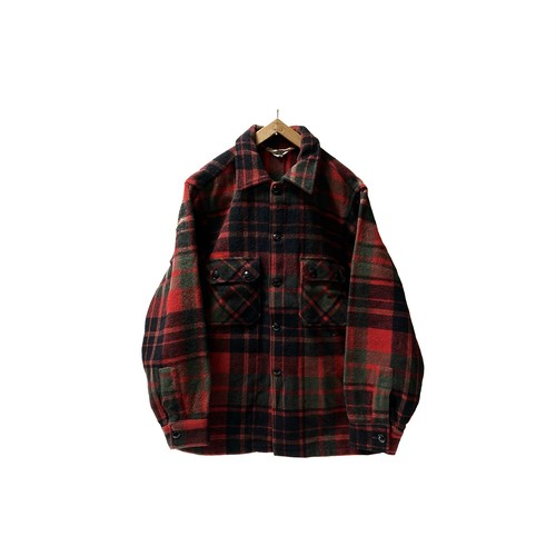 """70's """"WOOLRICH"""" CPO STYLE SHIRTS JKT"""