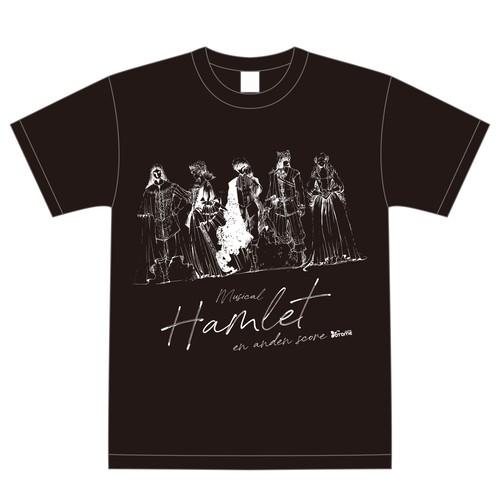 Tシャツ ブラック(デザイン画)