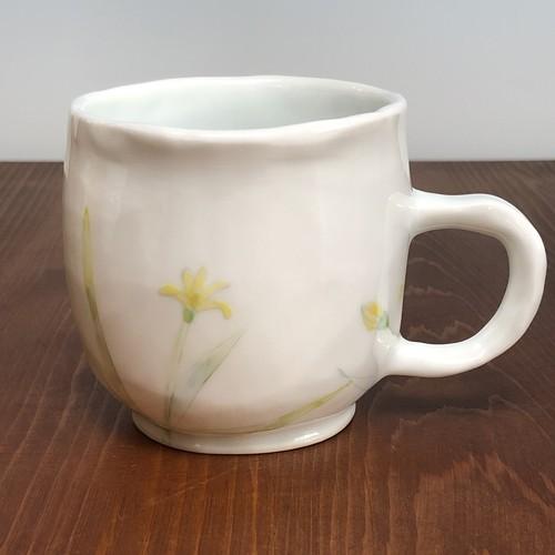 色絵マグカップ
