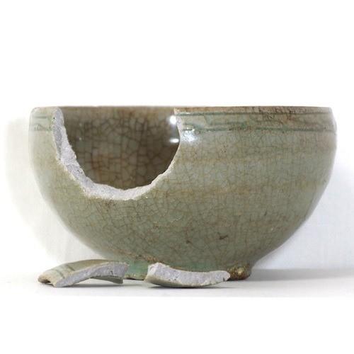 陶器等簡易金接ぎ補修