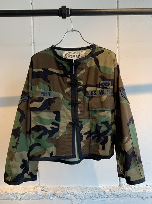 MIMAE   military china jacket ①
