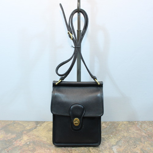 .OLD COACH TURN LOCK LEATHER 2WAY SHOULDER BAG MADE IN TURKEY/オールドコーチターンロックレザー2wayショルダーバッグ 2000000033068