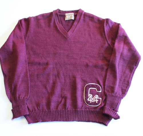 Vintage Letterman Sweater