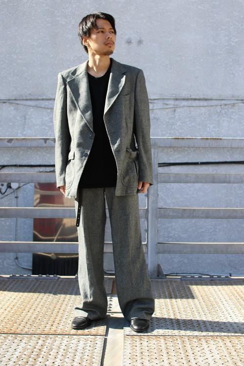 Vin. Western Design Wool Tailored Set Up