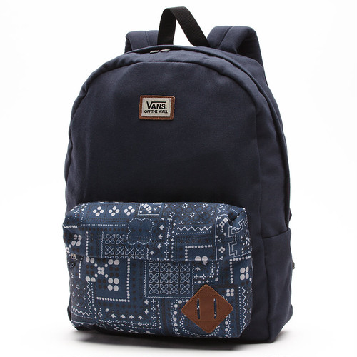 VANS OLD SKOOL II BACKPACK NAVY BANDANA