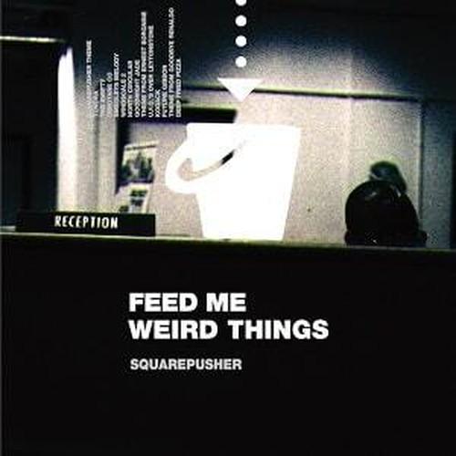 【ラスト1/LP】Squarepusher - Feed Me Weird Things -2LP+10inch+DL- (LTD Clear  Vinyl)