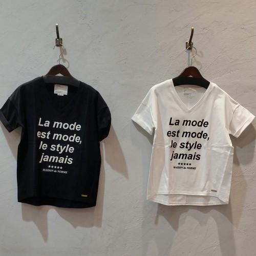 【NobleBlanc/ノーブルブランケ】Tシャツ
