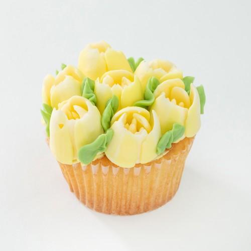 YELLOW FLOWER CAKE 6P