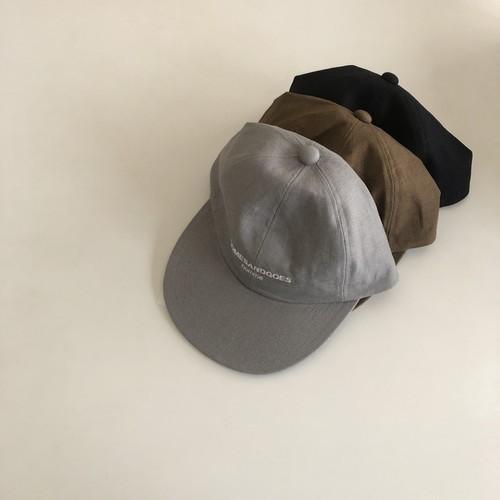 COMES HOMME LINEN CAP|COMESANDGOES