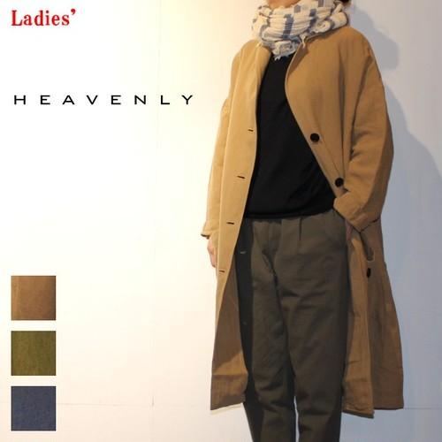 【ラスト1点】 HEAVENLY / ヘブンリー ツイルテーラーカラーコート TWILL TAILOR COLLAR COAT 711301 (BEIGE , OLIVE , NAVY)
