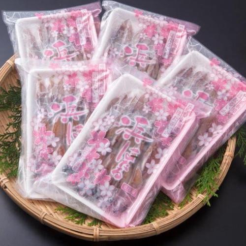 冷凍生ほたるいか 5パックセット【浜坂産】(プロトン凍結)