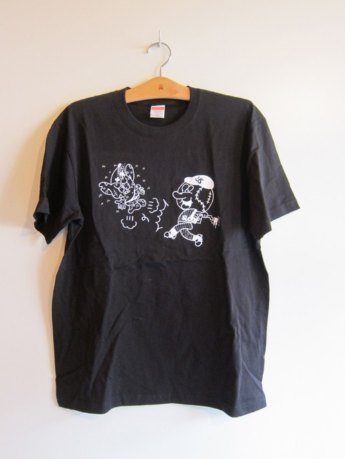 """Minto """"Hungry Mintown Ys"""" tee black"""
