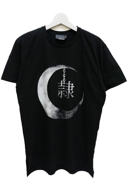 「隷」T-shirts (Black)