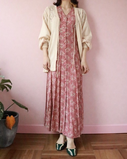 Laura Ashley botanical dress