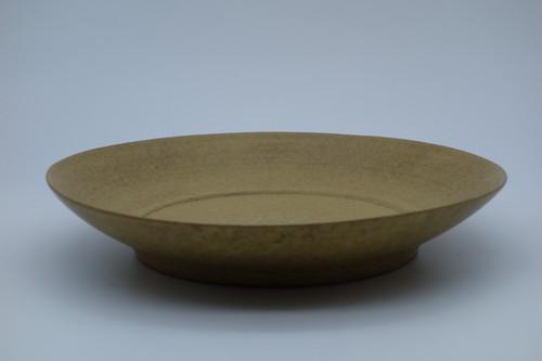 一柳京子 麦色リム鉢