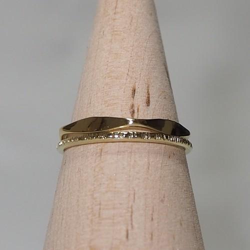 『5角×キリコ』Brass(真鍮)製 オリジナルリングセット