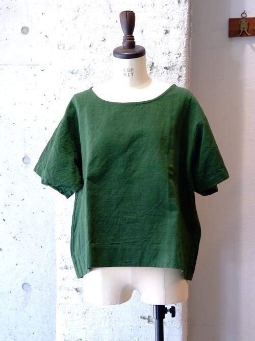 ヤンマ産業 会津木綿袖付シャツ