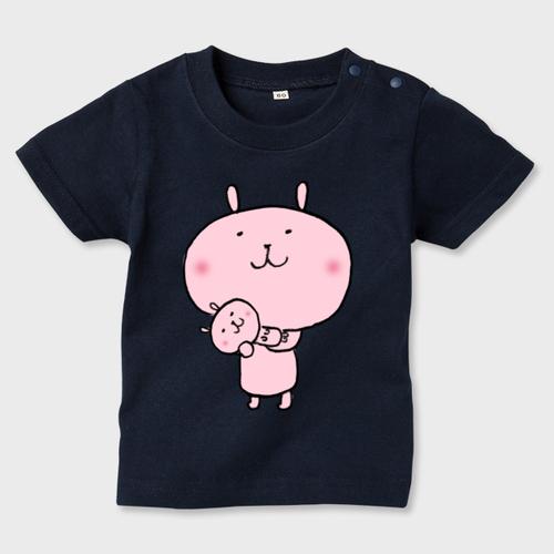 【キッズTシャツ90】赤ちゃんだっこ
