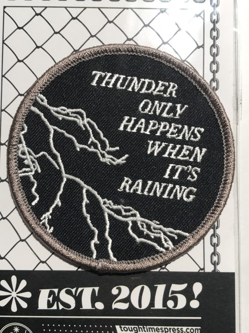 "Toughtimes""THUNDER PATCH"""