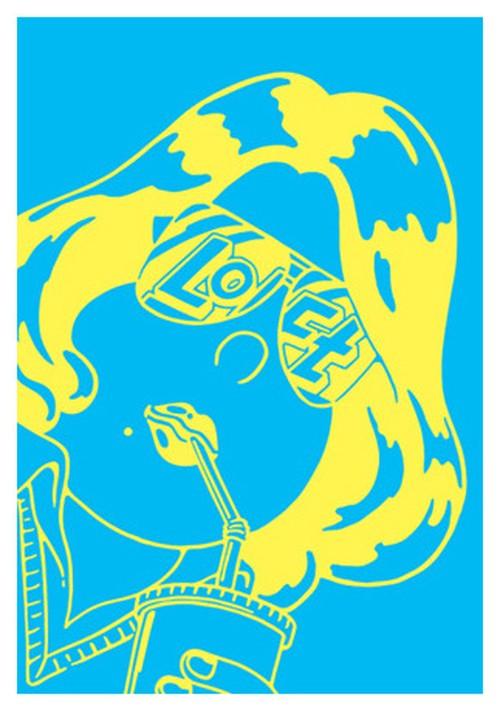 《JUN OSON イラストポストカード》CJ-9/ LOCT