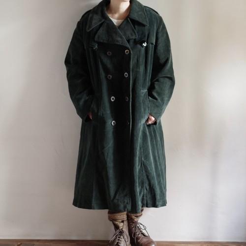 Corduroy Long Coat / コーデュロイ ロング コート