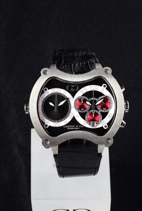 NEW Big Time GRAND 57mm Chrono 2Time Zone 【JAPAN Limited】BGD57BK-S
