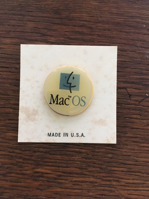 MacOS ピンズ Made in USA