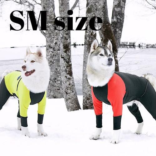 【ALPHAICON】 2020年モデル  ダブルフルドッグガード  SMサイズ  アルファアイコン  W. FULL DOG GUARD  SM 犬 冬 外遊び アウトドア 犬服