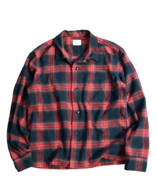 TOWN CRAFT/タウンクラフト OMBRE OPEN SHIRTS     TC15F002UD