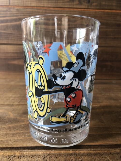 Walt  Disney''100 Year of Magic'' McDonald's Glass Mickeymouse /ウォルトディズニー 100周年 マクドナルド グラス ミッキーマウス