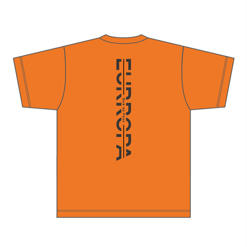 [VERTICAL]EURROPA LOGO T-SHIRT(Orange)  & ORIGINAL TOTE BAG