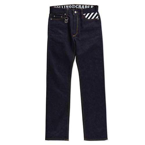 【送料無料】ROLLING CRADLE(ロリクレ) | THUNDER GATE DENIM 2nd type / Indigo