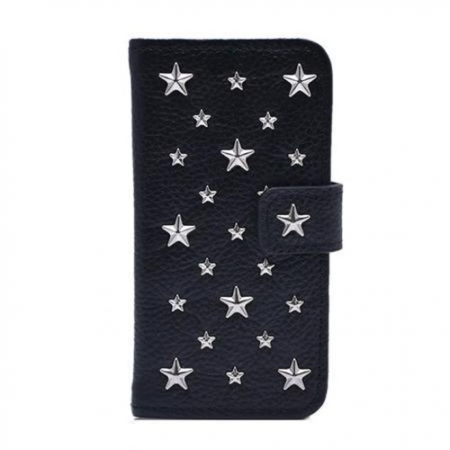 ENLA BY ENCHANTED.LA NOTEBOOKTYPE LEATHER STARS CASE / CUSTOM ORDER MADE