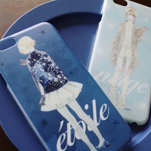 iPhone case:étoile(クリアケース)