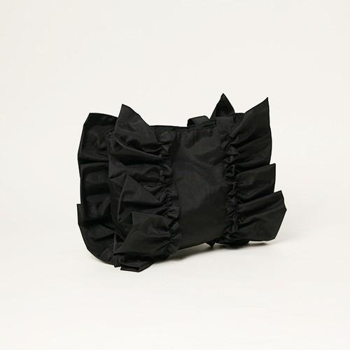 ナイロンフリルバック S(ブラック)