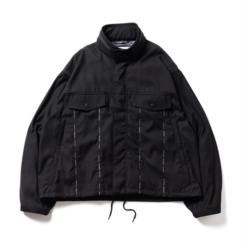 TIGHTBOOTH:FW20-JK06 : TACTICAL BLOUSON C/#BLACK