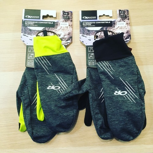 【OUTDOOR RESEARCH / OVERDRIVE CONVERTIBLE GLOVES】