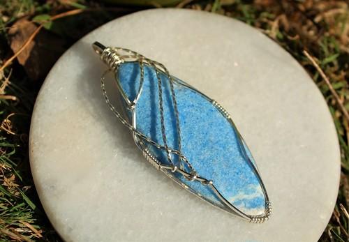 ブルー ビオラン サイキックな才能を目覚めさせ、カルマを癒す石