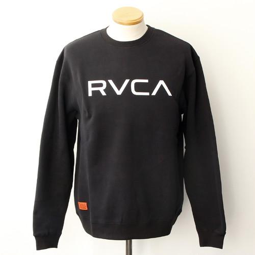 BIG RVCA CREW (BLACK)