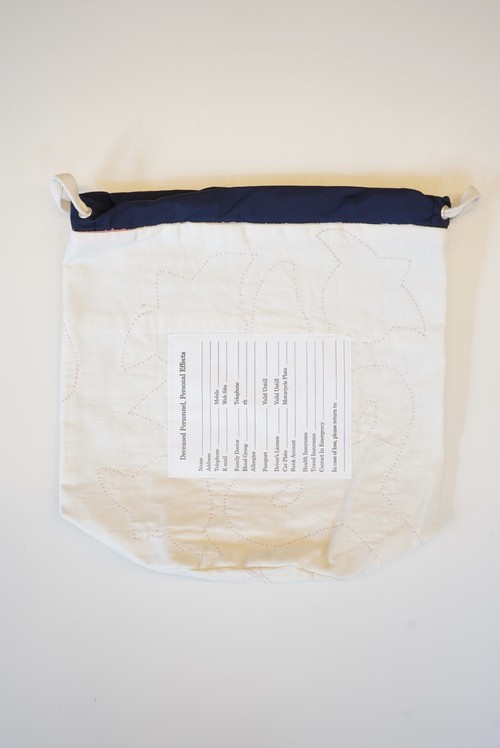 sw.0187 personal effects bag.(quilt)