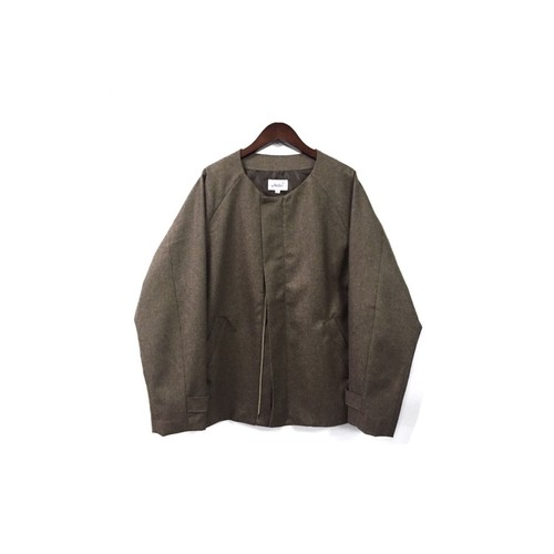 yotsuba - Nocollar Jacket / Brown ¥35000+tax