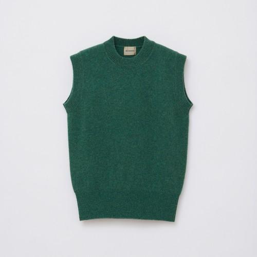 Sleeveless Knit / Green