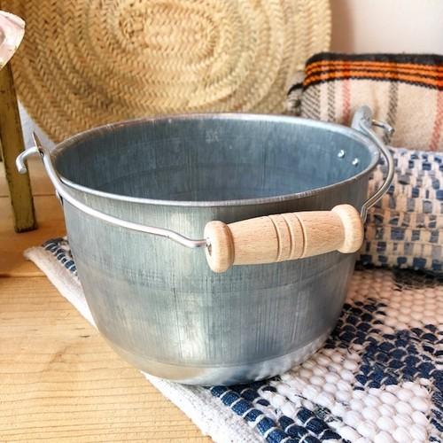 トタン豆バケツ Φ20.4cm ー松野屋ー